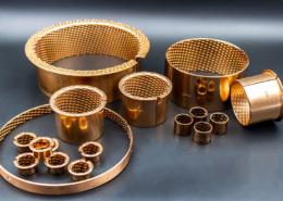 WPK090-Serie Zylinder- und Bundbuchsen