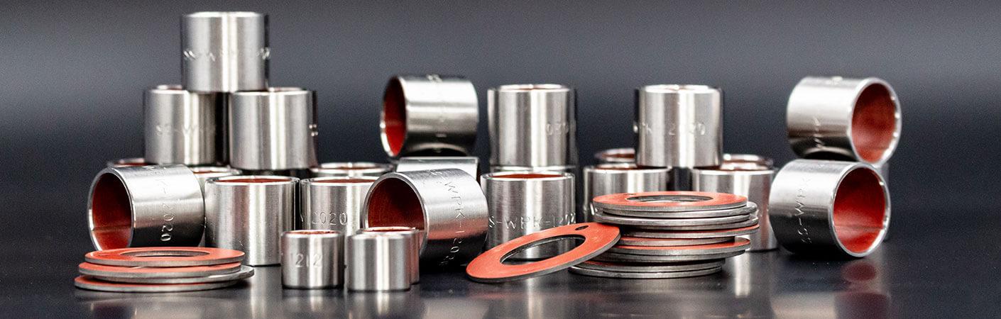 WPK1-S-Serie Zylinderbuchsen und Anlaufscheiben