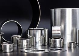 Gleitlager der WPK1-W-Serie aus Stahl