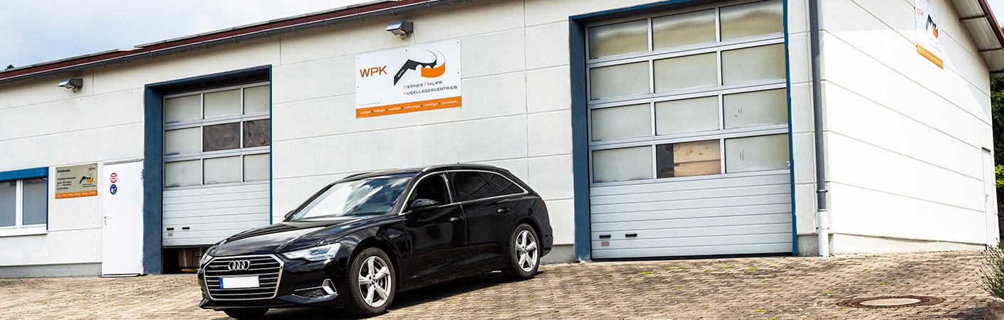 Werner Philipp Kugellagervertrieb Lagerhalle