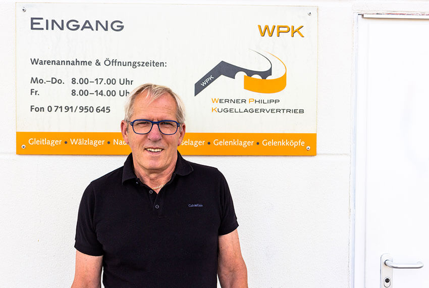 Geschäftsführer Werner Philipp