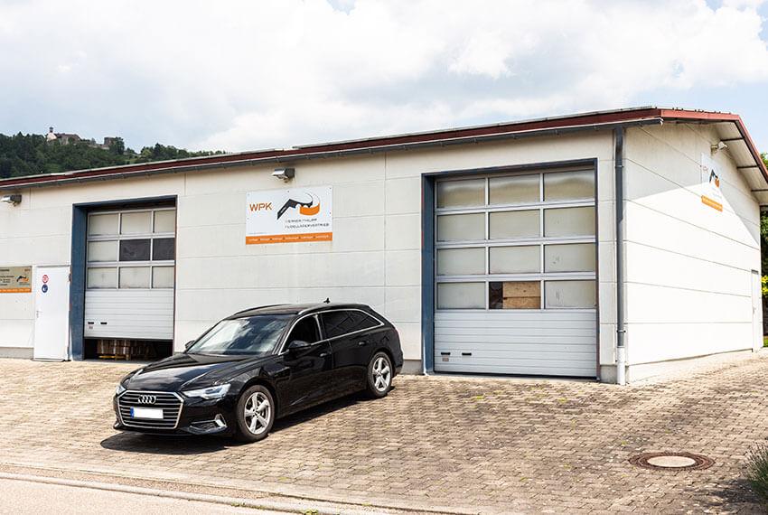 Die Lagerhalle von Werner Philipp Kugellagervertrieb, in der sämtliche Wälz- und Gleitlager gelagert werden | WPK Germany